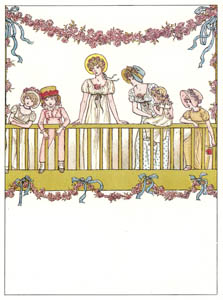thumbnail Kate Greenaway – THE LITTLE QUEEN'S COMING [from Marigold Garden]