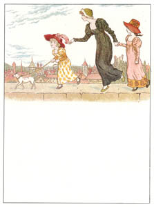 ケイト・グリーナウェイ – 塀の上で (マリーゴールド・ガーデンより)のサムネイル画像