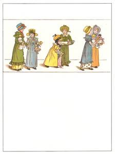 ケイト・グリーナウェイ – ママと赤ちゃん (マリーゴールド・ガーデンより)のサムネイル画像
