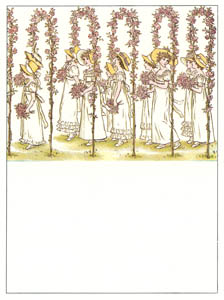 ケイト・グリーナウェイ – バラのアーチをくぐって (マリーゴールド・ガーデンより)のサムネイル画像