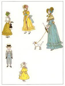 ケイト・グリーナウェイ – 上品な家族 (マリーゴールド・ガーデンより)のサムネイル画像