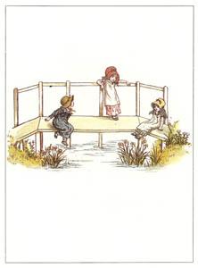 ケイト・グリーナウェイ – 橋の上で (マリーゴールド・ガーデンより)のサムネイル画像