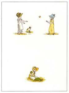 thumbnail Kate Greenaway – BALL [from Marigold Garden]