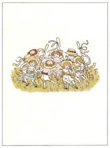 thumbnail Kate Greenaway – RING-A-RING [from Marigold Garden]