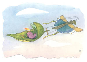 エルンスト・クライドルフ – 春が来る (バッタさんのきせつより)のサムネイル画像