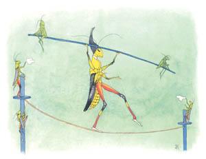 エルンスト・クライドルフ – つなわたり (バッタさんのきせつより)のサムネイル画像