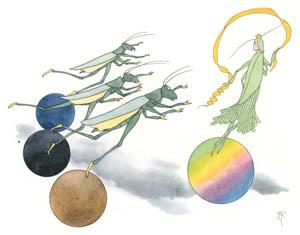 エルンスト・クライドルフ – しあわせの女神 (バッタさんのきせつより)のサムネイル画像