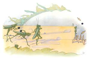 エルンスト・クライドルフ – ボーリング (バッタさんのきせつより)のサムネイル画像
