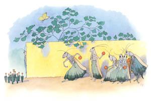 エルンスト・クライドルフ – おくさんたちのボーリング (バッタさんのきせつより)のサムネイル画像