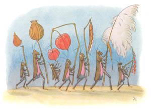 エルンスト・クライドルフ – 秋のおまつり (バッタさんのきせつより)のサムネイル画像