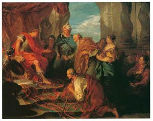フランソワ・ブーシェ – ファラオに父親と兄弟達を紹介するヨセフ (ブーシェ・フラゴナール展より)のサムネイル画像