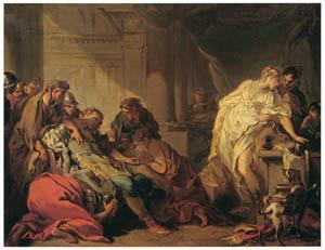 フランソワ・ブーシェ – メレアグロスの死 (ブーシェ・フラゴナール展より)のサムネイル画像
