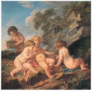 フランソワ・ブーシェ – 夏 (ブーシェ・フラゴナール展より)のサムネイル画像