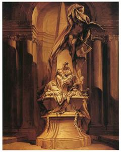 フランソワ・ブーシェ – ミニャールの墓 (ブーシェ・フラゴナール展より)のサムネイル画像