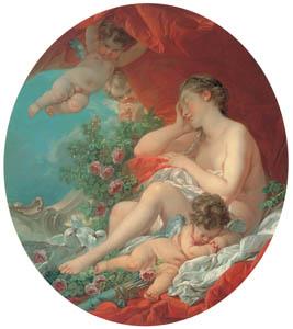 フランソワ・ブーシェ – ヴィーナスの眠り (ブーシェ・フラゴナール展より)のサムネイル画像