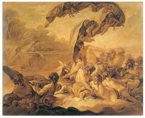 フランソワ・ブーシェ – アンフィトリテの勝利 (ブーシェ・フラゴナール展より)のサムネイル画像