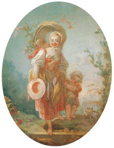 thumbnail Jean-Honoré Fragonard – La bergère [from Three Masters of French Rocco]