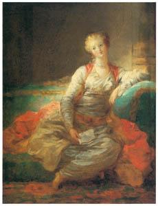 ジャン・オノレ・フラゴナール – スルタンの妃 (ブーシェ・フラゴナール展より)のサムネイル画像