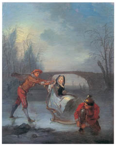 ニコラ・ランクレ – 冬 (ブーシェ・フラゴナール展より)のサムネイル画像