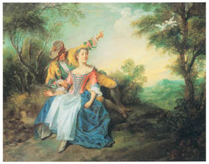 thumbnail Nicolas Lancret – Les colombes [from Three Masters of French Rocco]