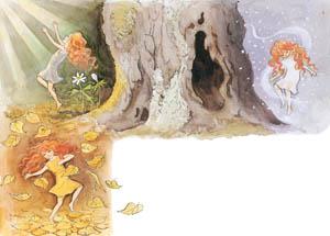 エルサ・ベスコフ – 挿絵1 (おひさまのたまごより)のサムネイル画像