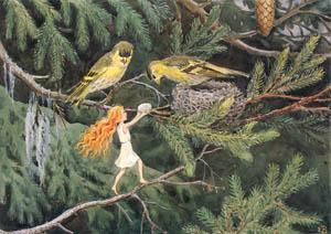 エルサ・ベスコフ – 挿絵2 (おひさまのたまごより)のサムネイル画像