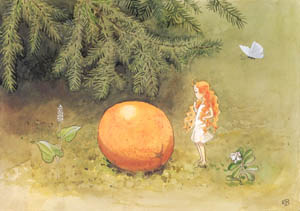 エルサ・ベスコフ – 挿絵3 (おひさまのたまごより)のサムネイル画像