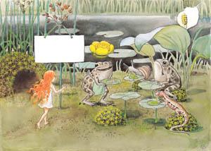 エルサ・ベスコフ – 挿絵5 (おひさまのたまごより)のサムネイル画像