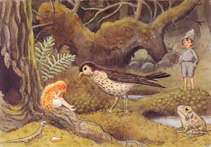 エルサ・ベスコフ – 挿絵10 (おひさまのたまごより)のサムネイル画像