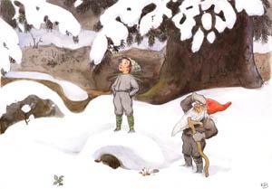 エルサ・ベスコフ – 挿絵12 (おひさまのたまごより)のサムネイル画像
