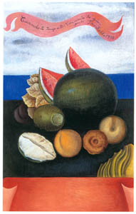 thumbnail Frida Kahlo – Still Life (How I Love You…,) [from Women Surrealists in Mexico]