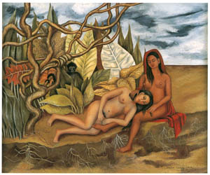 thumbnail Frida Kahlo – Two Nudes in the Forest [from Women Surrealists in Mexico]