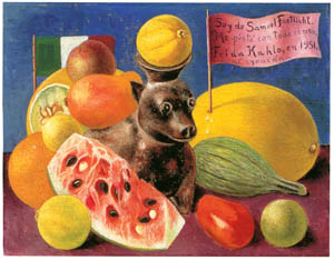 thumbnail Frida Kahlo – Still Life [from Women Surrealists in Mexico]