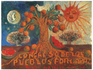 thumbnail Frida Kahlo – Congress of People for Peace [from Women Surrealists in Mexico]