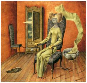 レメディオス・バロ – 擬態 (フリーダ・カーロとその時代より)のサムネイル画像