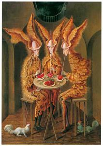 レメディオス・バロ – 菜食主義の吸血鬼 (フリーダ・カーロとその時代より)のサムネイル画像