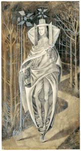 レメディオス・バロ – 放浪者 (フリーダ・カーロとその時代より)のサムネイル画像