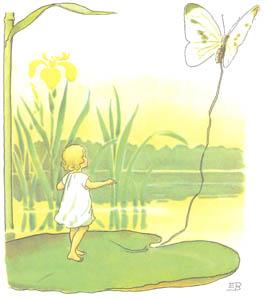 エルサ・ベスコフ – 挿絵1 (おやゆびひめより)のサムネイル画像