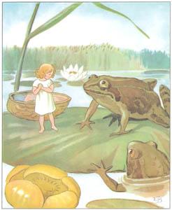 エルサ・ベスコフ – 挿絵4 (おやゆびひめより)のサムネイル画像