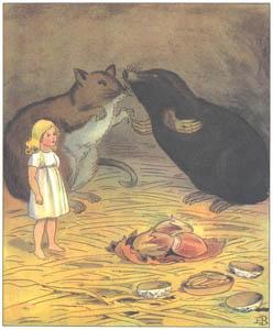 エルサ・ベスコフ – 挿絵9 (おやゆびひめより)のサムネイル画像