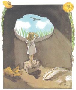 エルサ・ベスコフ – 挿絵11 (おやゆびひめより)のサムネイル画像