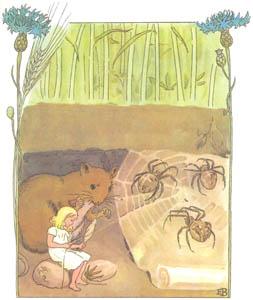 エルサ・ベスコフ – 挿絵12 (おやゆびひめより)のサムネイル画像