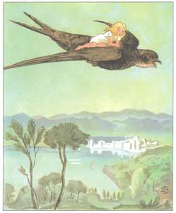 エルサ・ベスコフ – 挿絵14 (おやゆびひめより)のサムネイル画像
