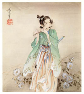 thumbnail Takabatake Kashō – Secret Song [from Catalogue of Takabatake Kashō Taisho Roman Museum]