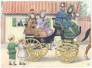 エルサ・ベスコフ – 挿絵4 (ペッテルとロッタのぼうけんより)のサムネイル画像