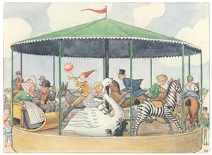 エルサ・ベスコフ – 挿絵16 (ペッテルとロッタのぼうけんより)のサムネイル画像