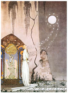 カイ・ニールセン – ラッシーと教母 1 (Kay Nielsenより)のサムネイル画像