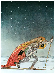 カイ・ニールセン – 白い国の三人の姫君 2 (Kay Nielsenより)のサムネイル画像