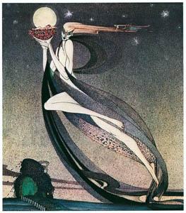 カイ・ニールセン – フェリシアまたは撫子の鉢 3 (Kay Nielsenより)のサムネイル画像