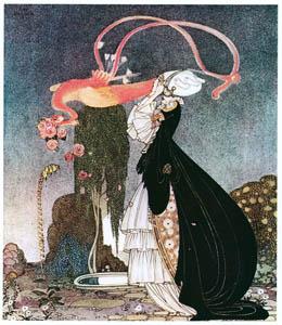 カイ・ニールセン – ロザニー姫と浮気な王子様 1 (Kay Nielsenより)のサムネイル画像